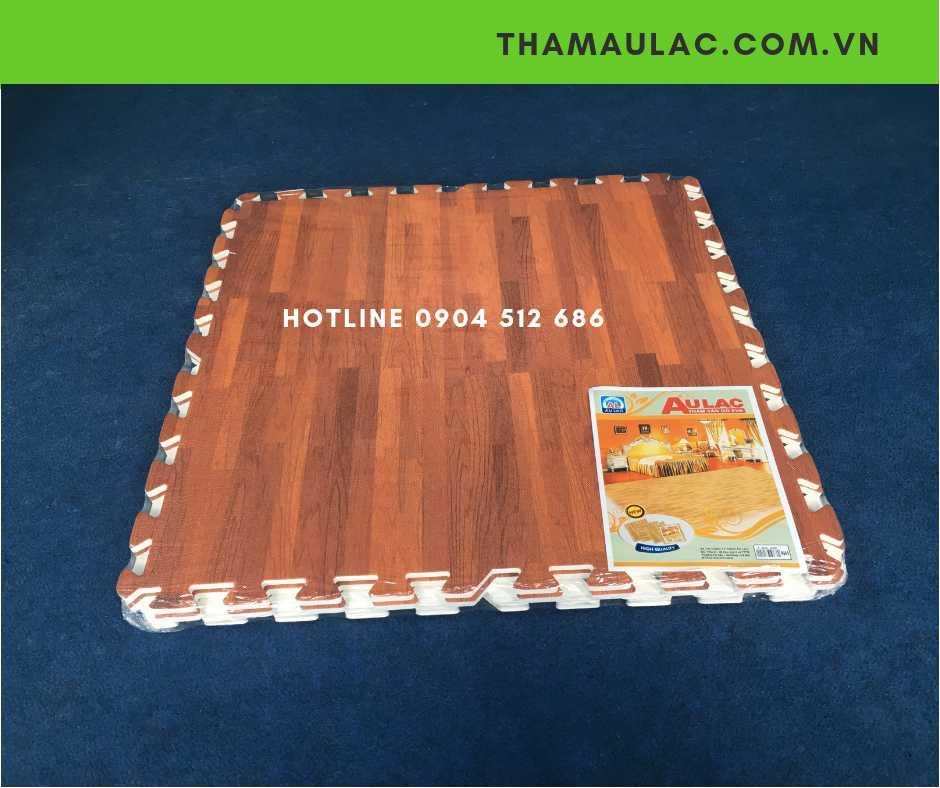 xốp trải sàn vân gỗ 60x60cm